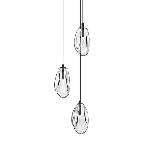Liquid 3-Light LED Pendant