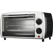 4-Slice Toaster Oven and Broiler (Black)