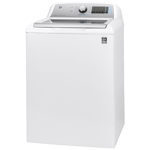 GE® 5.8 cu. ft. (IEC) Capacity Washer with SmartDispense White - GTW845CSNWS