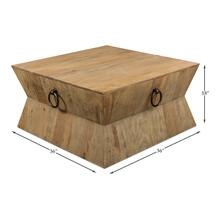 Tribal Square Centre Table