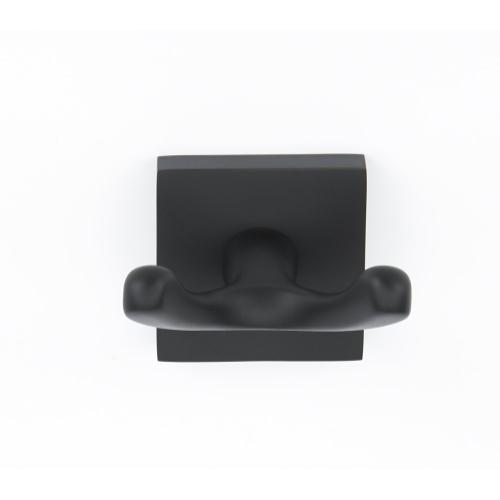 Contemporary II Double Robe Hook A8484 - Matte Black