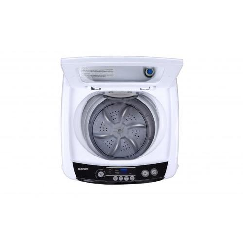 Gallery - Danby Compact 0.9 Cubic Foot Top Load Washing Machine For Apartment - White