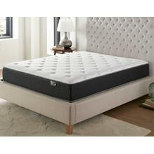 Silver Sleep Bamboo Plush 11.5-inch Mattress, Queen