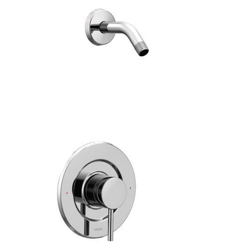 Align chrome posi-temp® shower only