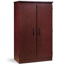2-Door Storage Cabinet - Royal Cherry