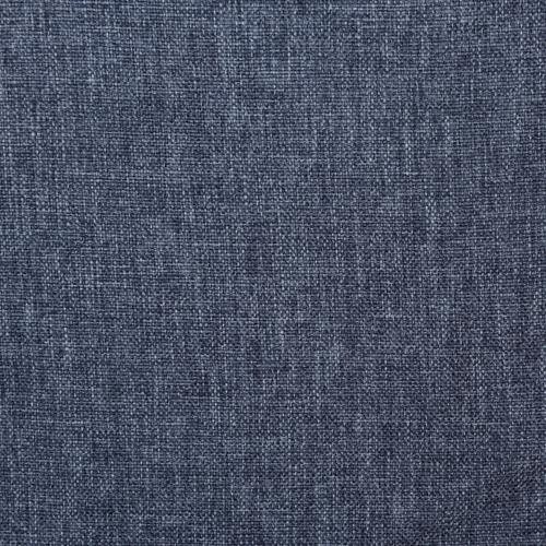 Button Tufted Twin Upholstered Bed in Denim Blue
