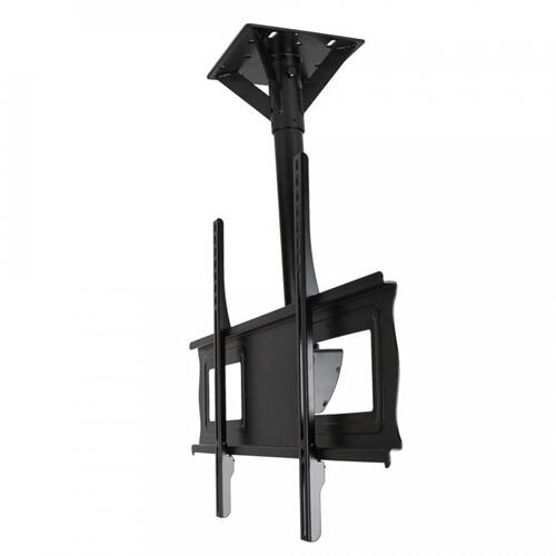 "SunBriteTV Ceiling Tilt Mount for 37"" - 80"" Large Outdoor TVs (Black) - SB-CM-T-L-BL"