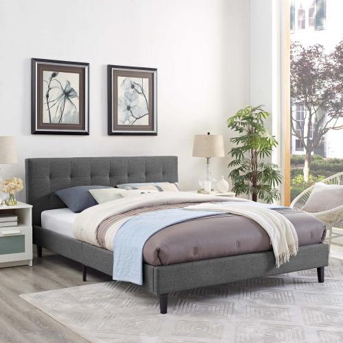 Linnea Full Bed in Gray