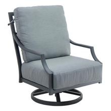 View Product - Lancaster High Back Cushioned Lounge Swivel Rocker
