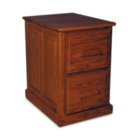Classic File Cabinet, Classic File Cabinet, 2-Drawer, Raised-Panel End