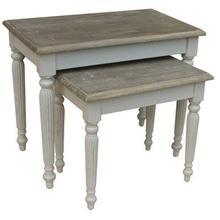Raffles Nesting Tables - Gry/rw
