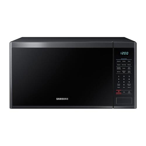 1.4 cu. ft. Countertop Microwave with Sensor Cooking in Fingerprint Resistant Black Stainless Steel