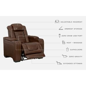 Signature Design By Ashley - Backtrack Power Recliner