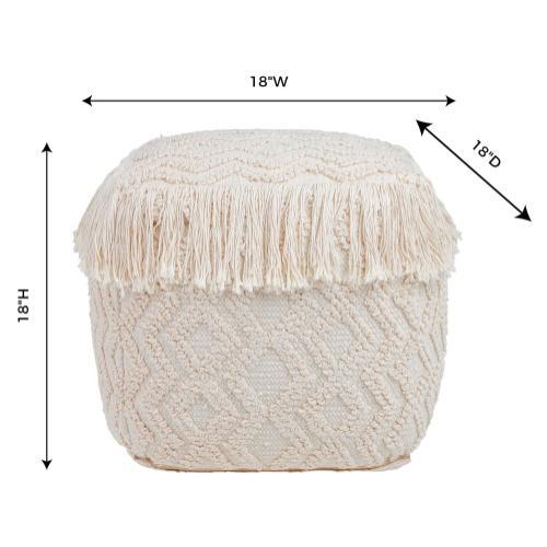 Tov Furniture - Inca Pouf