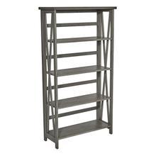 See Details - Hillsboro 5/shelf Bookcase