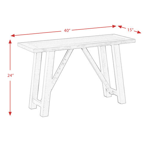 Cash Counter Height Bench