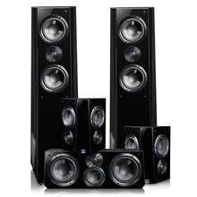 Ultra Tower Surround System - Piano Gloss Black