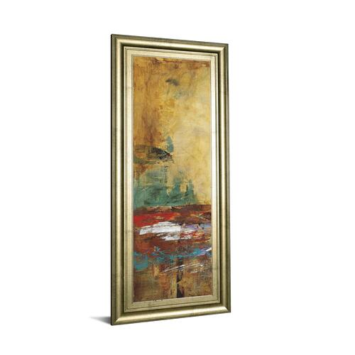 """Villarreal Santos I"" By Abulia Framed Print Wall Art"
