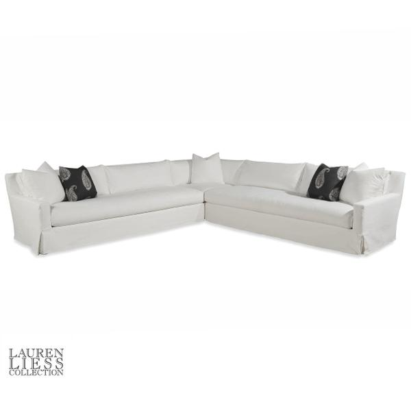See Details - Cavalier Slipcovered Sectional