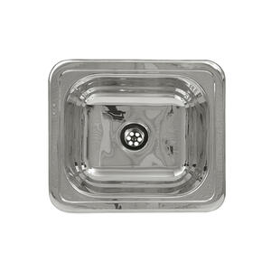 """Decorative Prep rectangular, drop-in entertainment/prep sink with a smooth surface and a 2"""" center drain. Product Image"""
