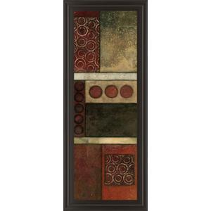 """Spiced Geometric Il"" By Norm Olson Framed Print Wall Art"