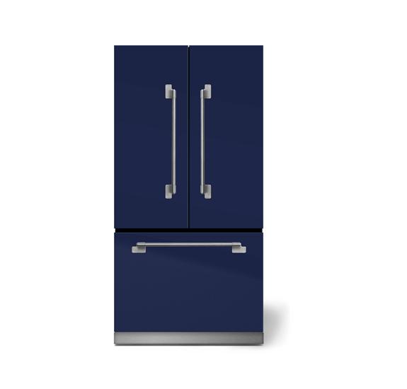 "AGAAga Elise 36"" French Door Refrigerator, Midnight Sky"