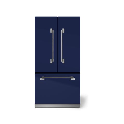 "Gallery - AGA Elise 36"" French Door Refrigerator, Blueberry"