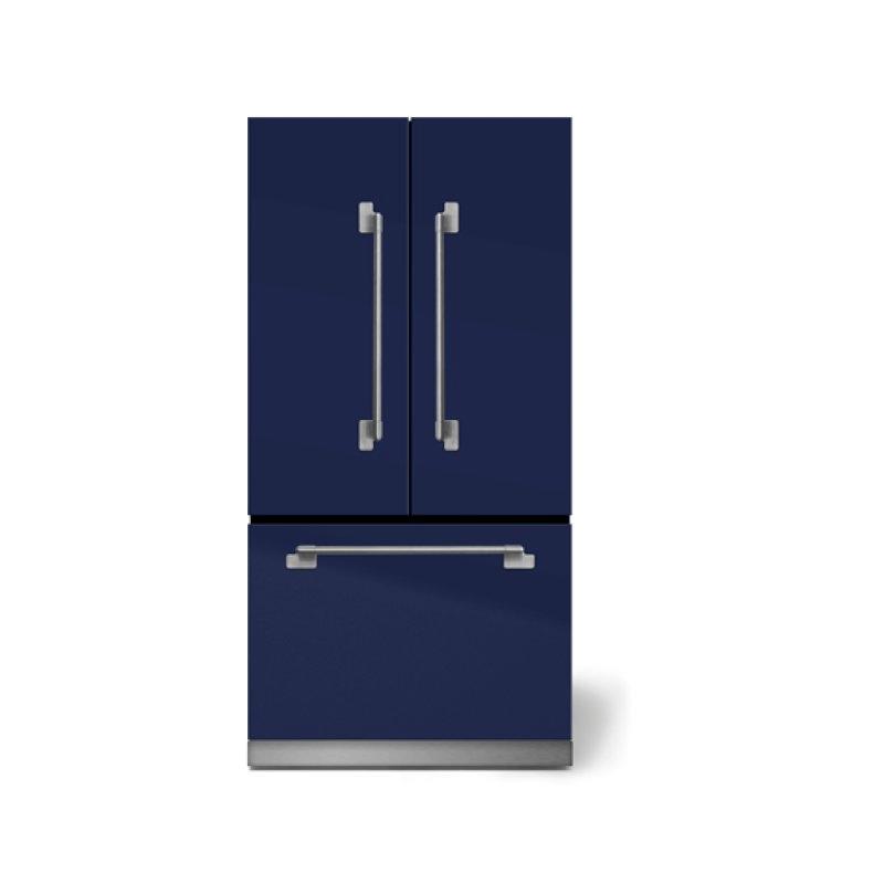"AGA Elise 36"" French Door Refrigerator, Midnight Sky"