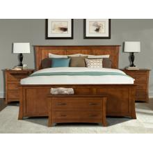 California King Panel Bed
