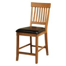 Family Dining Slat Back Counter Stool