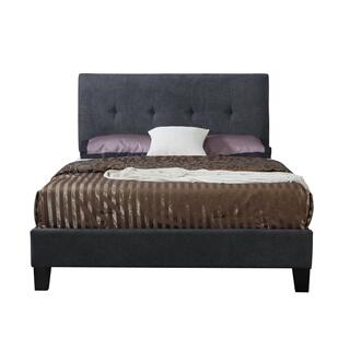 Harper King Bedframe Charcoal
