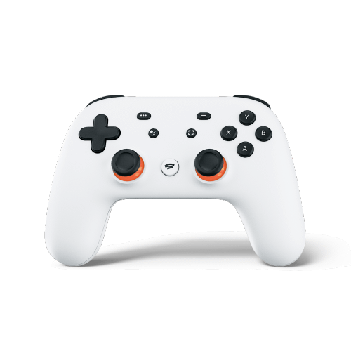 Stadia Controller (Clearly White)