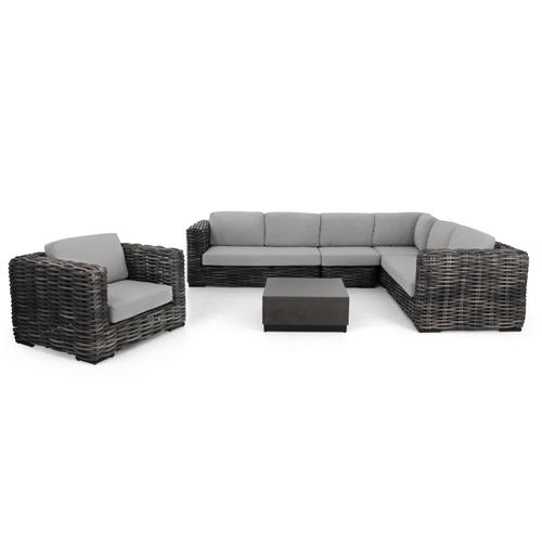 ELEMENTS XL Sectional Left Arm Love Seat w/ cushions