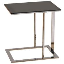 Mod Accent Table in Chrome/Black