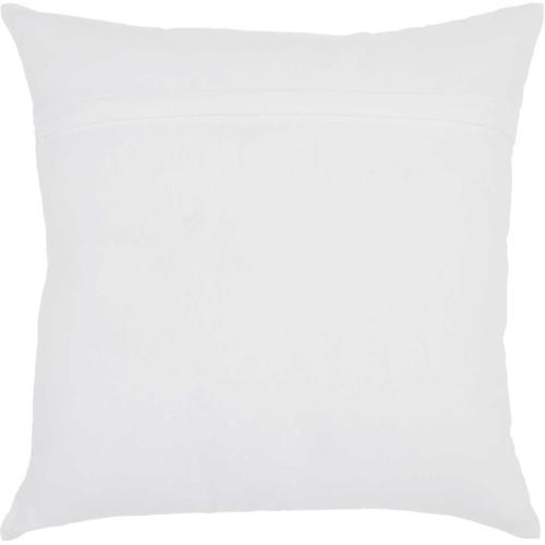"""Trendy, Hip, New-age Jb214 White 18"""" X 18"""" Throw Pillow"""