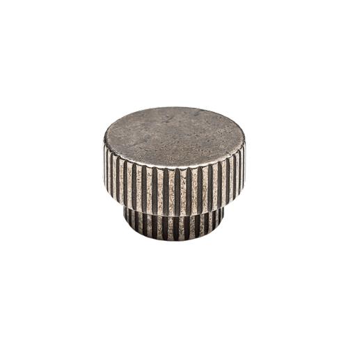 Rocky Mountain Hardware - Flute Large Knob - CK10017 White Bronze Brushed