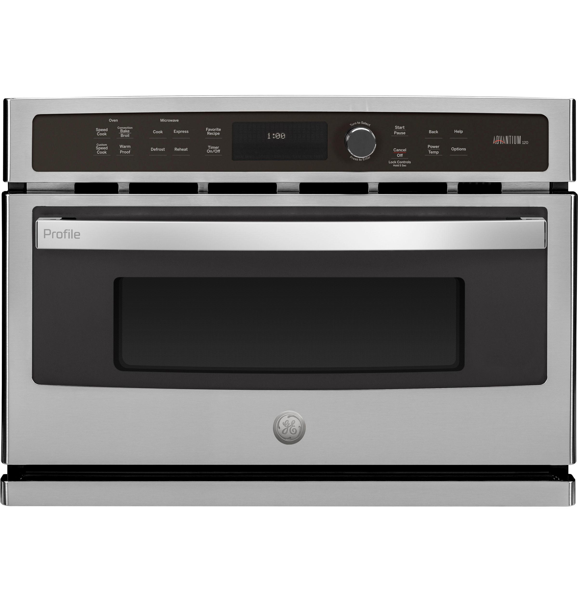 GE ProfileGe Profile™ 27 In. Single Wall Oven Advantium® Technology