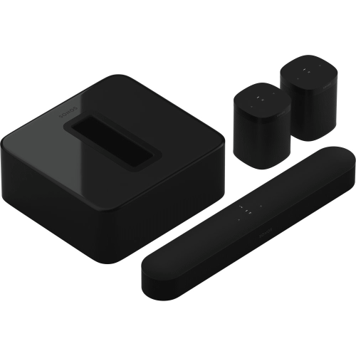 Black- 5.1 Surround Set