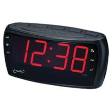 Digital AM/FM Dual Alarm Clock Radio with Jumbo Digital Display