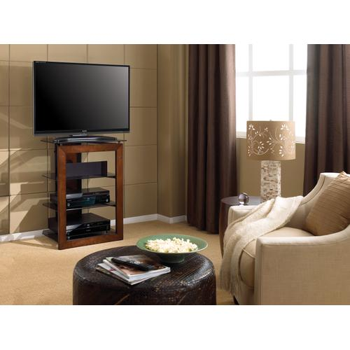 """27"""" TV Stand for TVs up to 32"""", Caramel"""