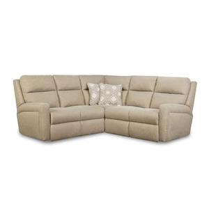 LAF Single Reclining Loveseat with Power Plus