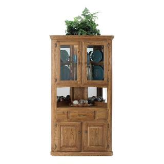 See Details - Corner Hutch w/ 2 Half Doors