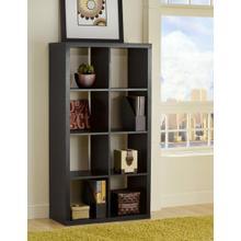 See Details - Black Shelf Unit