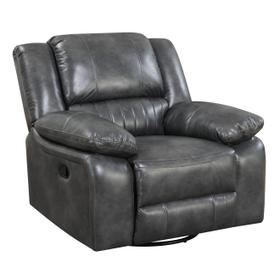 Navaro Swivel Gliding Recliner, Gray U7120-04-03