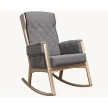 Product Image - Margot - Dark Grey and Natural Glider