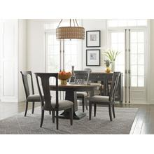 View Product - Laurent Round Dining Table Complete