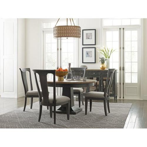 Gallery - Laurent Round Dining Table Complete