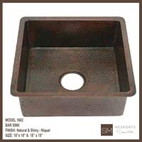 1602 Square Bar Sink Product Image