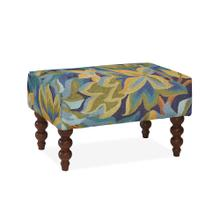 Rockport Small Rug Ottoman, AVAL-INDG