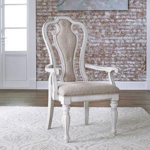 Liberty Furniture Industries - Splat Back Uph Arm Chair (RTA)